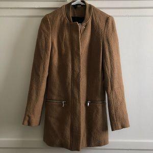 Mid-length Bomber Style Coat